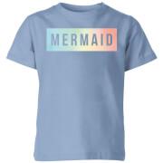 My Little Rascal Mermaid - Baby Blue Kids' T-Shirt - Royal Blue