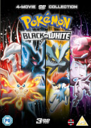 Pokémon Movie 14-16 Collection - Black & White (Victini and Zekrom/Victini and Reshiram, Kyurem Vs. The Sword of Justice, Genesect and the Legend Awakened)