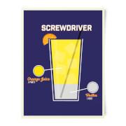 Screwdriver Art Print
