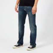 Emporio Armani Men's 5 Pocket Slim Denim Jeans - Blue