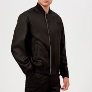 KENZO Men's Reversible Check Bomber Jacket - Black