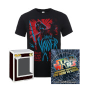 Lot Star Wars T-shirt, Livre et Figurine Pop!