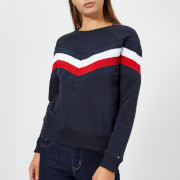 Tommy Hilfiger Women's Faith Crew Neck Sweatshirt - Navy