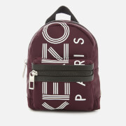 KENZO Women's Mini Nylon Rucksack - Burgundy