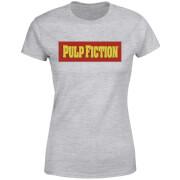 T-Shirt Femme Logo Pulp Fiction - Gris