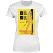 Kill Bill Poster Dames T-shirt - Wit