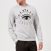 KENZO Men's Eye Logo Sweatshirt - Pale Grey