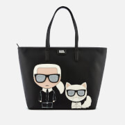 Karl Lagerfeld Women's K/Ikonik Shopper Bag - Black