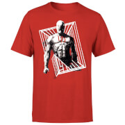 Marvel Knights Daredevil Cage Men's T-Shirt - Red