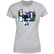 Marvel Knights Jessica Jones Comic Panels Women's T-Shirt - Grey