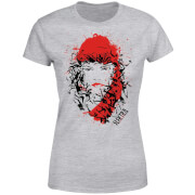 Marvel Knights Elektra Face Of Death Women's T-Shirt - Grey
