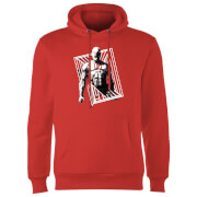 Marvel Knights Daredevil Cage Hoodie - Red