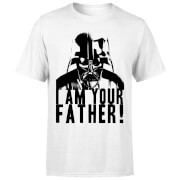 Star Wars Darth Vader I Am Your Father Confession Men's T-Shirt - White