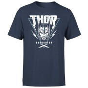 Marvel Thor Ragnarok Asgardian Triangle Men's T-Shirt - Navy