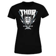 Marvel Thor Ragnarok Asgardian Triangle Damen T-Shirt - Schwarz