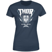 Marvel Thor Ragnarok Asgardian Triangle Damen T-Shirt - Navy Blau