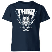 Marvel Thor Ragnarok Asgardian Triangle Kinder T-Shirt - Navy Blau