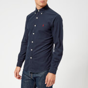 Polo Ralph Lauren Men's Long Sleeve Oxford Shirt - Navy