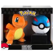 Pokémon Charmander + Great Ball Soft Toy