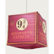 Harry Potter Hogwarts Express 9 3/4 Cube Paper Light Shade