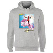 Marvel Deadpool Unicorn Battle Hoodie - Grey