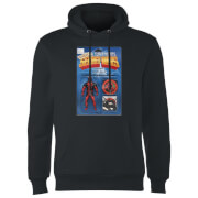 Sweat à Capuche Homme Deadpool Figurine Secret Wars Marvel - Noir