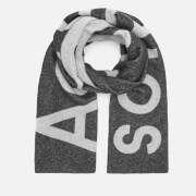 Acne Studios Men's Toronty Logo Scarf - Black