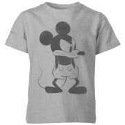 Disney Mickey Mouse Boos Kinder T-Shirt - Grijs