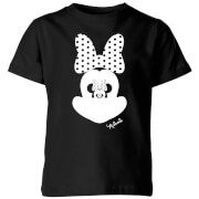 Disney Minnie Mouse Mirror Illusion Kids' T-Shirt - Black