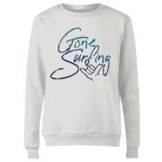 Gone Surfing Women's Sweatshirt - White