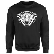 American Gods Buffalo Head Sweatshirt - Black