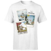Frozen Olaf Polaroid Men's T-Shirt - White