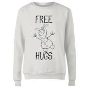 Frozen Olaf Free Hugs Dames Trui - Wit