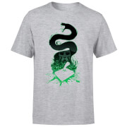 Harry Potter Basilisk Silhouette Men's T-Shirt - Grey