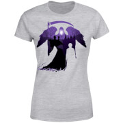 Harry Potter Graveyard Silhouette Women's T-Shirt - Grey