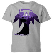 Harry Potter Graveyard Silhouette Kids' T-Shirt - Grey