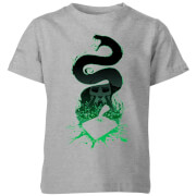 Harry Potter Basilisk Silhouette Kids' T-Shirt - Grey