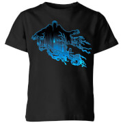 Harry Potter Dementor Silhouette Kids' T-Shirt - Black