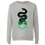 Sweat Femme Silhouette de Nagini - Harry Potter - Gris
