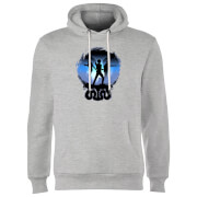 Harry Potter Silhouette Attack Hoodie - Grau
