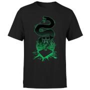 Harry Potter Nagini Silhouette Herren T-Shirt - Schwarz