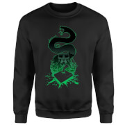 Sweat Homme Silhouette de Nagini - Harry Potter - Noir
