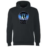 Harry Potter Silhouette Attack Hoodie - Black