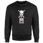 East Mississippi Community College Skull and Logo Sweatshirt - Black
