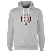 East Mississippi Community College Seal Hoodie - Grey