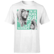 T-Shirt Homme Ours Brun - Natural History Museum - Blanc