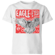 Natural History Museum Eagle Eyed Kids' T-Shirt - White