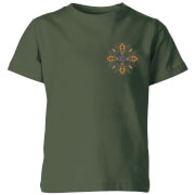 Natural History Museum Bees Kids' T-Shirt - Forest Green