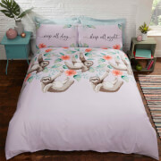 Sloths Duvet Set - Multi