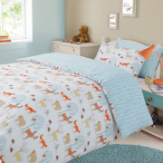 Dreamscene Forest Animals Duvet Set - Multi
